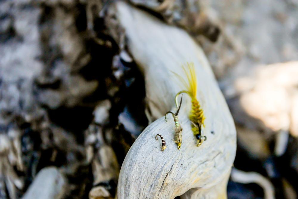 Trout fly patterns for fishing Manzanita Lake