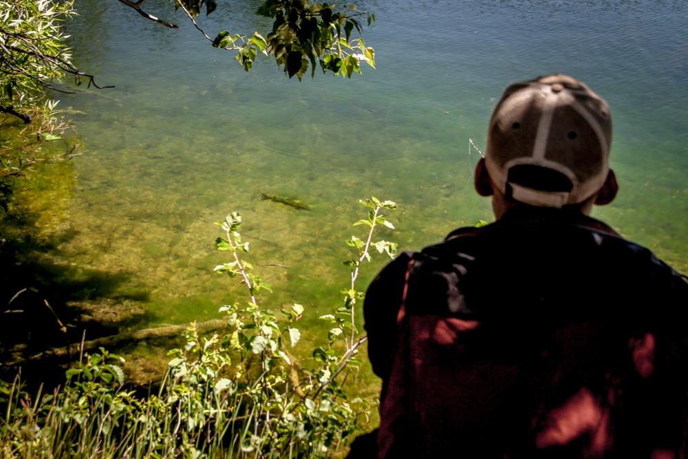 Fly Fishing Manzanita Lake